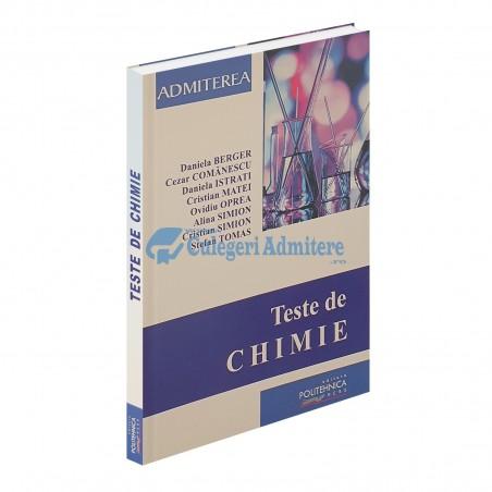 Teste de CHIMIE 2021 - Admitere UPB