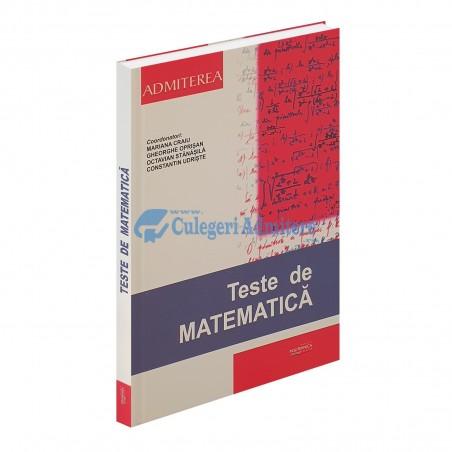 Teste de Matematica 2020 - Admitere UPB