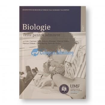 Biologie - Teste pentru admitere. 2021 UMF Iuliu Hatieganu Cluj-Napoca